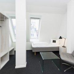 Отель Smarthotel Oslo 3* Стандартный семейный номер с двуспальной кроватью фото 2