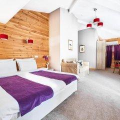 Гостевой дом Резиденция Парк Шале Номер Делюкс с различными типами кроватей фото 9