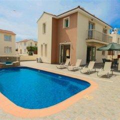 Отель Villa Florie Кипр, Протарас - отзывы, цены и фото номеров - забронировать отель Villa Florie онлайн бассейн фото 2