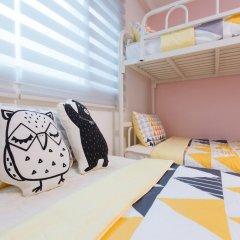 Отель Stay Now Guest House Hongdae Стандартный семейный номер с двуспальной кроватью фото 4