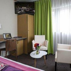Отель Hôtel Paris Louis Blanc - Paris 10 3* Стандартный номер с различными типами кроватей фото 5