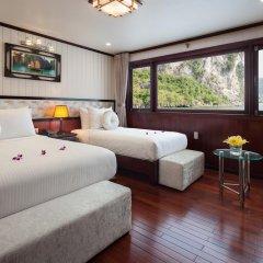 Отель Halong Silversea Cruise 3* Номер Делюкс с двуспальной кроватью фото 2