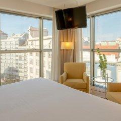 Отель Hesperia A Coruña Centro 4* Стандартный номер с различными типами кроватей