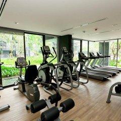 Отель The Deck Condo Patong фитнесс-зал