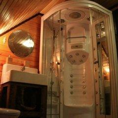 Гостиница Загородный комплекс отдыха Волжанка Коттедж Делюкс разные типы кроватей фото 24