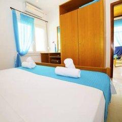 Отель Salonikiou Beach Deluxe Apartments Греция, Аристотелес - отзывы, цены и фото номеров - забронировать отель Salonikiou Beach Deluxe Apartments онлайн комната для гостей фото 5