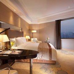Отель Crowne Plaza Xian 4* Улучшенный номер с различными типами кроватей фото 2
