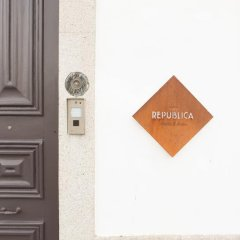 Porto Republica Hostel & Suites интерьер отеля