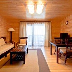 Гостиница Золотая бухта Бунгало с различными типами кроватей фото 14