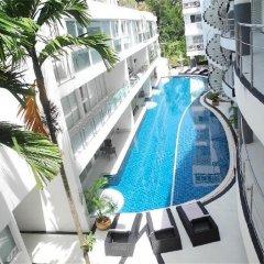 Отель Sunset Plaza Karon 2 bedrooms Nice Sea View балкон