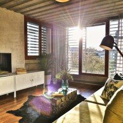 Апартаменты Langhans Apartments Прага комната для гостей фото 5