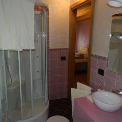 Отель Affittacamere Ai Fiori Читтаделла ванная