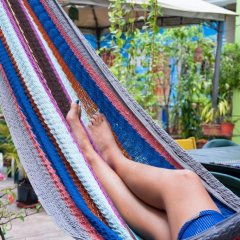 Отель La Hamaca Hostel Гондурас, Сан-Педро-Сула - отзывы, цены и фото номеров - забронировать отель La Hamaca Hostel онлайн бассейн фото 2