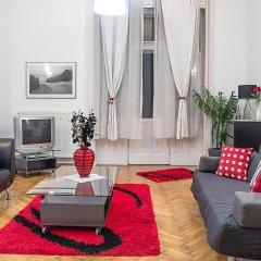 Апартаменты Black & White Apartment Будапешт интерьер отеля