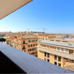 Апартаменты Salaria Apartment балкон