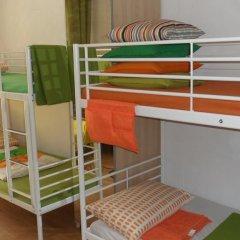 Hostel Vnukovsky Кровать в общем номере с двухъярусной кроватью фото 12
