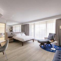 Radisson Blu Hotel, Nice 4* Стандартный номер с двуспальной кроватью фото 7