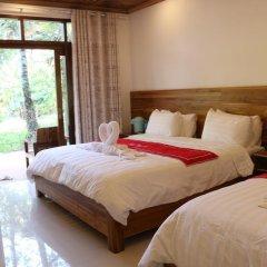 Отель Villa Oasis Luang Prabang 3* Номер Делюкс с различными типами кроватей фото 4