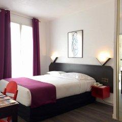 Отель BRH Boulogne Résidence Hôtel 3* Улучшенная студия с различными типами кроватей фото 10