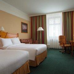 Гостиница Марриотт Москва Гранд 5* Улучшенный номер с различными типами кроватей фото 10