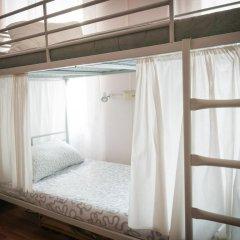 Хостел Кремлевские Огни Кровать в общем номере с двухъярусной кроватью фото 12