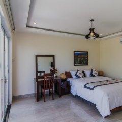 Отель The Moon River Homestay & Villa 3* Улучшенный номер с различными типами кроватей