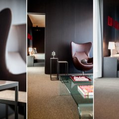Hotel Glam Milano 4* Люкс с различными типами кроватей фото 14