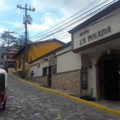 Отель La Posada Copan Копан-Руинас городской автобус