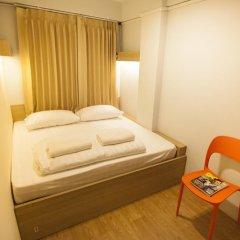 Micro Hostel Стандартный номер с двуспальной кроватью (общая ванная комната) фото 4