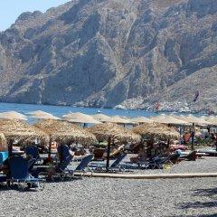 Отель Adonis Греция, Остров Санторини - отзывы, цены и фото номеров - забронировать отель Adonis онлайн пляж