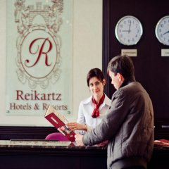 Гостиница Reikartz Dnipro интерьер отеля фото 3