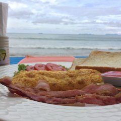 Отель Rann Chalet Beach Side Ланта питание фото 3