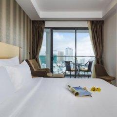Sen Viet Premium Hotel Nha Trang 4* Номер Делюкс с двуспальной кроватью фото 10