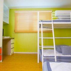KW Hongdae Hostel Номер категории Эконом с различными типами кроватей фото 3