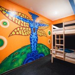 Art Hostel Contrast Кровать в общем номере с двухъярусной кроватью фото 4
