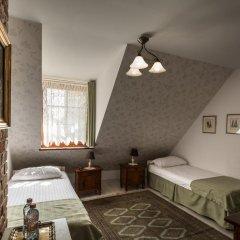 Отель Karczma Rzym & Straszny Dwor 3* Стандартный номер с различными типами кроватей фото 6