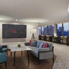 Singapore Marriott Tang Plaza Hotel 5* Номер Делюкс с различными типами кроватей фото 3