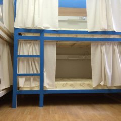 Хостел Плед на Самотёчной Кровать в общем номере с двухъярусной кроватью фото 2