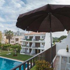 Отель Akisol Vilamoura Emerald II Португалия, Виламура - отзывы, цены и фото номеров - забронировать отель Akisol Vilamoura Emerald II онлайн бассейн фото 3