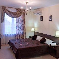 Гостиница Голубая Лагуна Стандартный номер двуспальная кровать фото 4