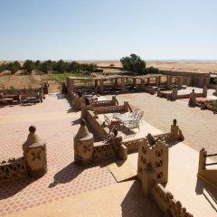 Отель Auberge Sahara Garden Марокко, Мерзуга - отзывы, цены и фото номеров - забронировать отель Auberge Sahara Garden онлайн балкон