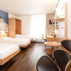 Hotel Basilea Zürich 3* Стандартный номер с различными типами кроватей фото 4
