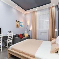 Мини-Отель Брусника Полежаевская Стандартный номер с различными типами кроватей фото 13