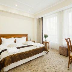 Гостиница Звёздный WELNESS & SPA Семейный люкс с двуспальной кроватью фото 11