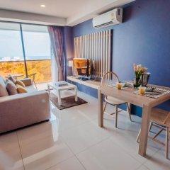 Отель Rocco Huahin Condominium Студия с различными типами кроватей фото 29