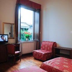 Hotel Accademia 3* Стандартный номер с различными типами кроватей фото 5