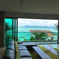 Отель Elemental 5FL Infinity Pool Seafront Villas 5* Вилла Делюкс фото 11