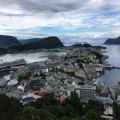 Отель Scandic Ålesund Норвегия, Олесунн - 1 отзыв об отеле, цены и фото номеров - забронировать отель Scandic Ålesund онлайн приотельная территория