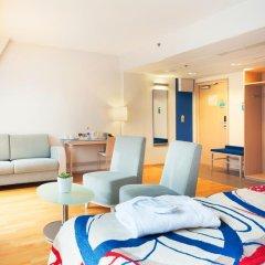 Отель Cumulus Hakaniemi 3* Улучшенный номер с различными типами кроватей фото 8