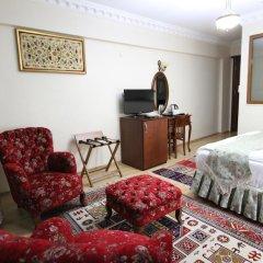 Basileus Hotel 3* Стандартный семейный номер разные типы кроватей фото 4